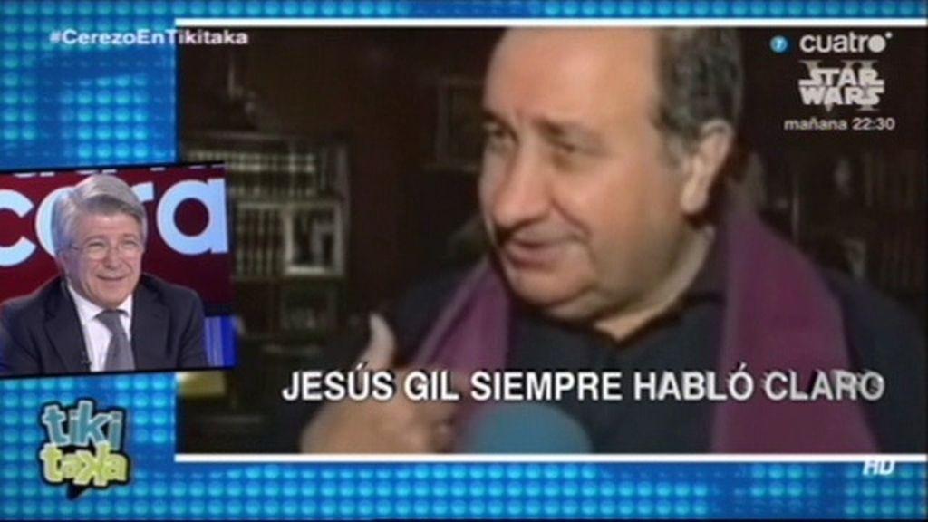 "Cerezo: ""Jesús Gil era un genio"""