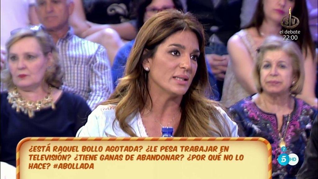 """Raquel Bollo: """"No estoy contra las cuerdas"""""""