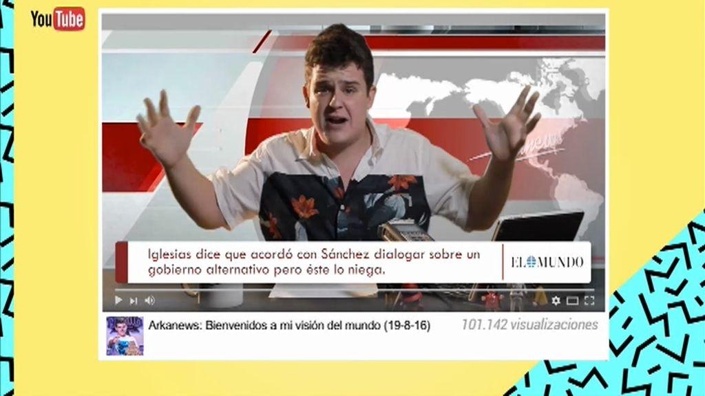 El informativo de @smotharkano: el rap de la España sin gobierno, lo peta en las redes