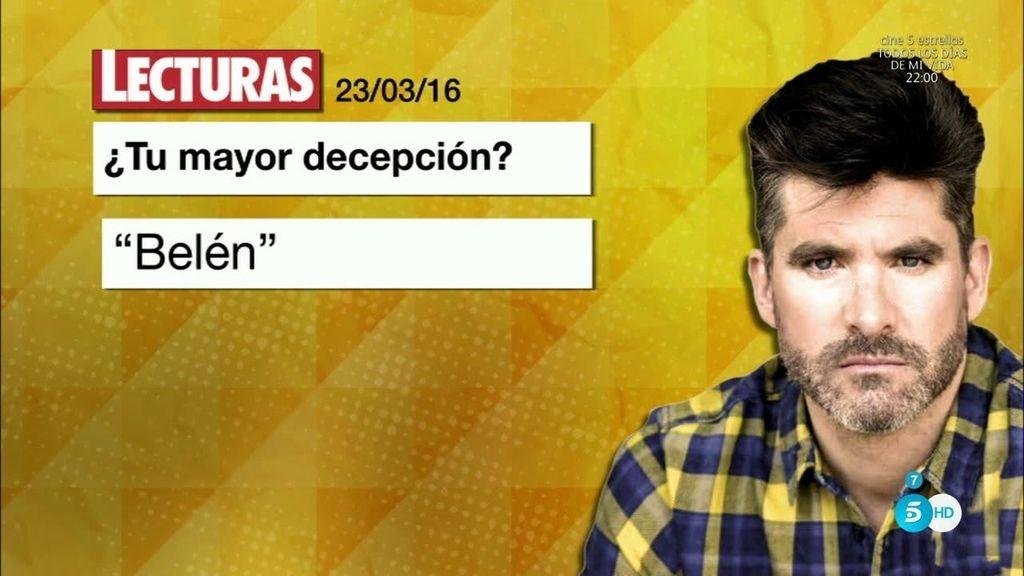 """Sanchís: """"Belén critica a todos, desde los presentadores hasta el último colaborador"""""""