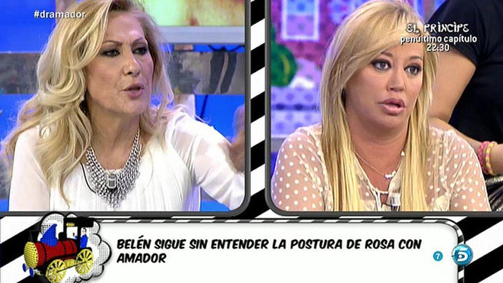 """Belén, sobre Rosa y Amador: """"Creo que en este 'Supervivientes' se reencuentran'"""