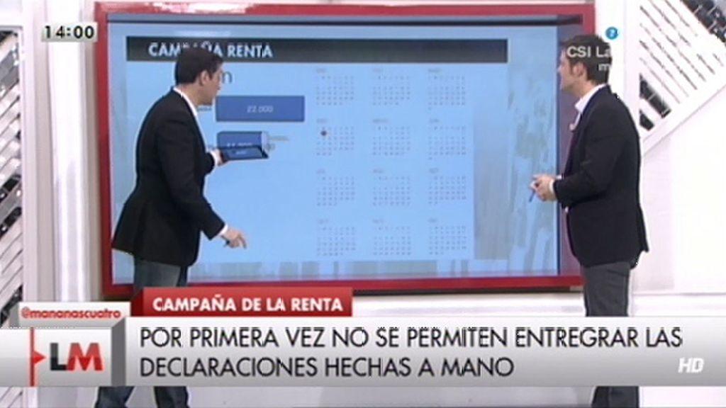 """Javier Ruiz: """"Se acabó hacer la declaración de la renta a mano"""""""