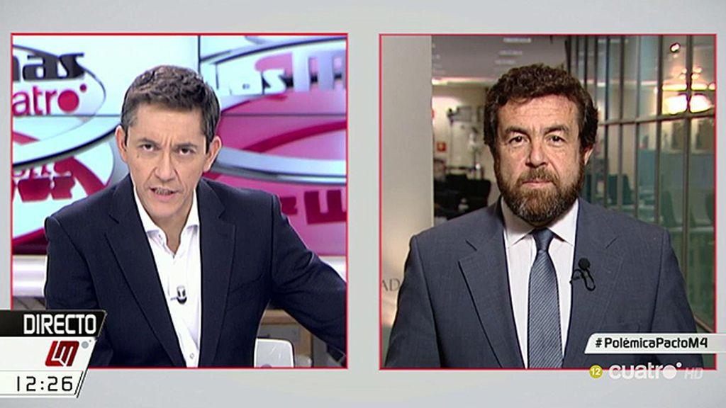 """Miguel Gutiérrez, C's: """"Sería muy triste que el PP aproveche la muerte de una persona"""""""