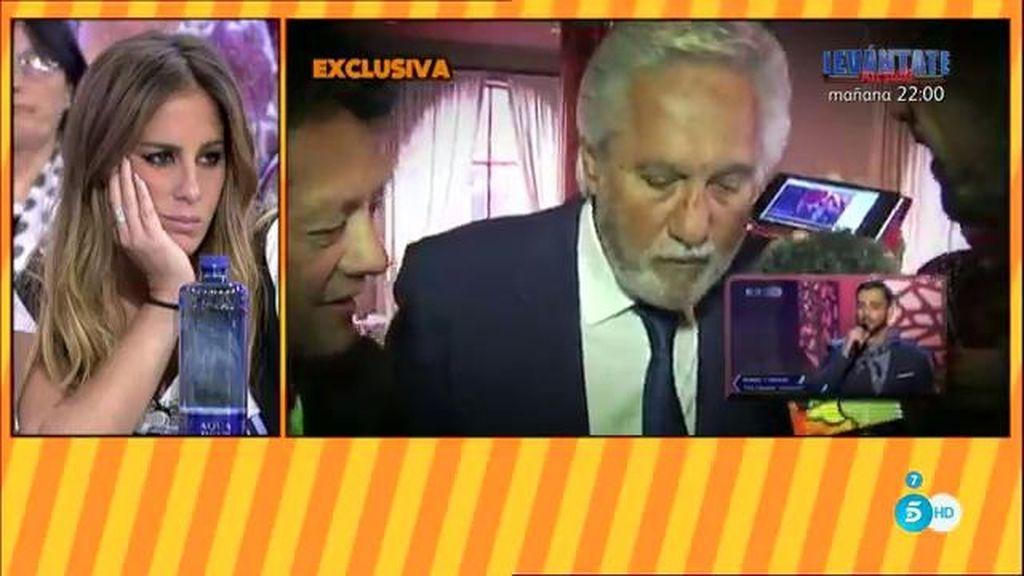 Chiquetete escucha cantar por fin  a su hijo Manuel ante las cámaras de 'Sálvame'