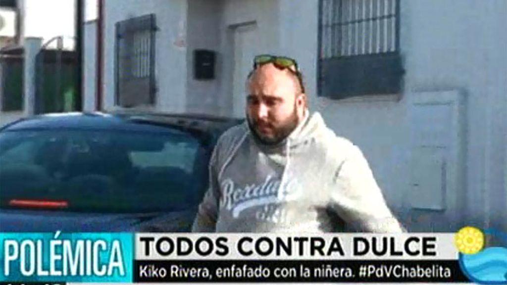 Kiko Rivera, enfadado con Dulce