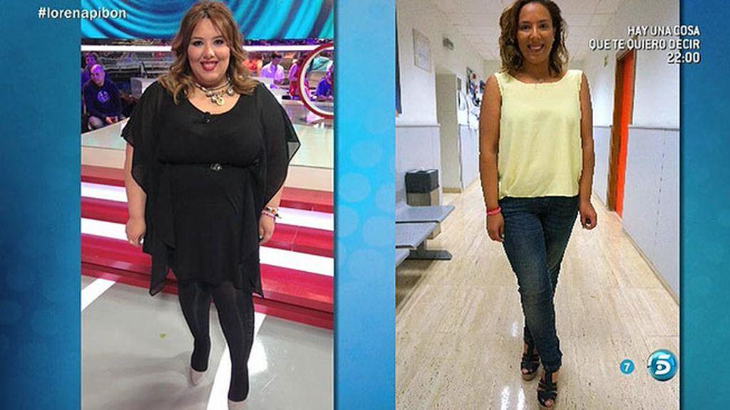 Lorena, exconcursante de 'GH', visita 'Sálvame' tras adelgazar 56 kilos