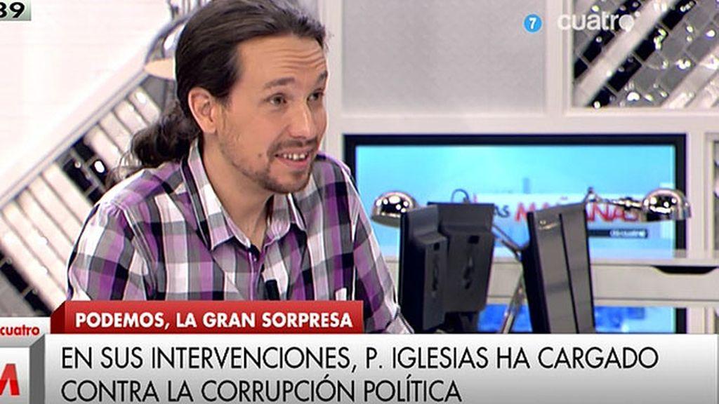 """Pablo Iglesias: """"Vamos a trabajar para decir que no somos una colonia de Alemania"""""""
