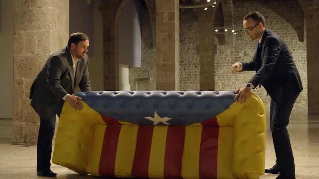 ¿Quieres el chester estelado firmado por Oriol Junqueras y Risto Mejide?