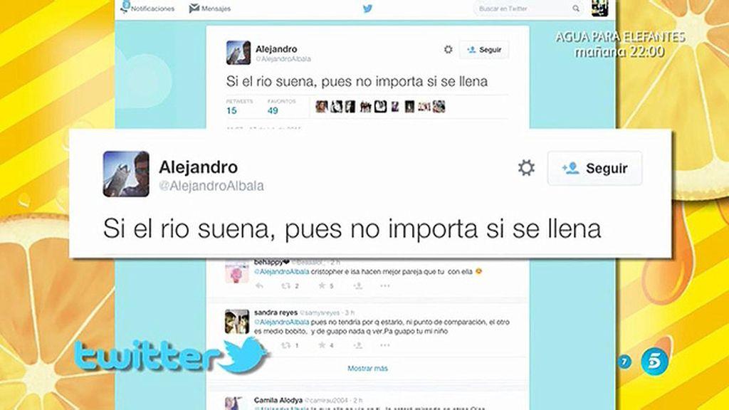 """Alejandro Albalá, en Twitter: """"Si el río suena, no importa si se llena"""""""