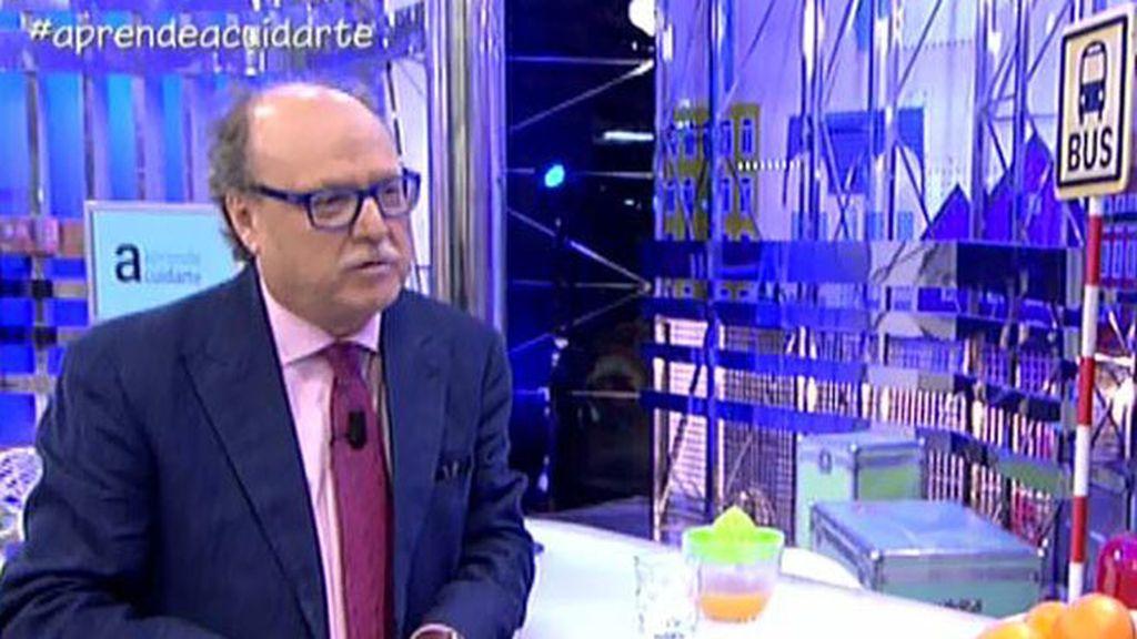 """Dr.Gutiérrez: """"Las aceitunas y las naranjas son grandísimos antioxidantes"""""""