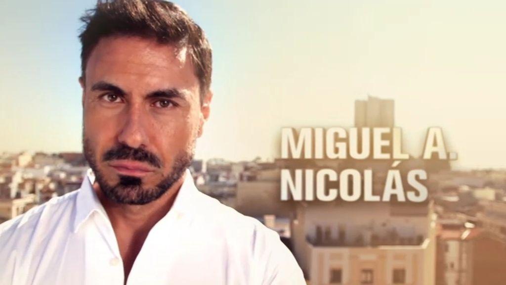 """Miguel A. Nicolás: """"Me he doblado un dedo y me he roto dos dientes"""""""