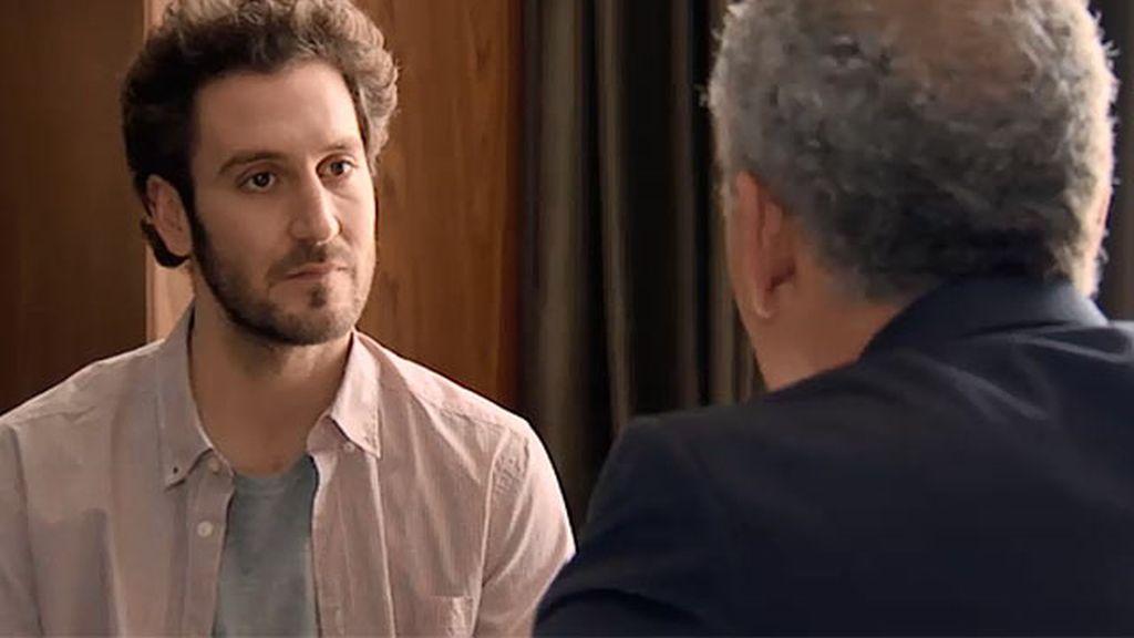 """Sergio, a Don Pablo: """"Su hija y yo estamos saliendo desde hace un tiempo"""""""