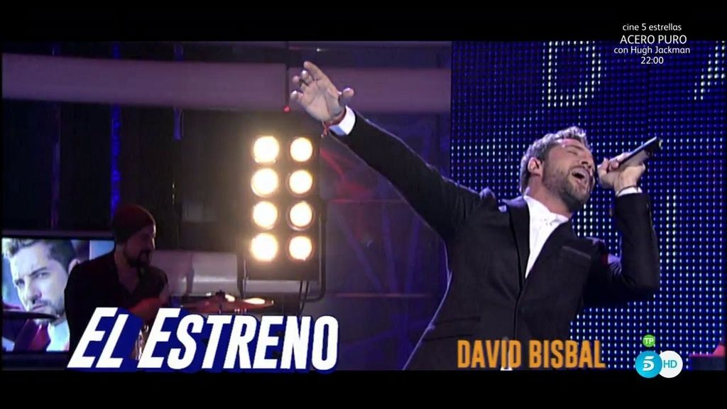 David Bisbal interpreta su nuevo tema 'Antes que no' en '¡Qué tiempo tan feliz!'