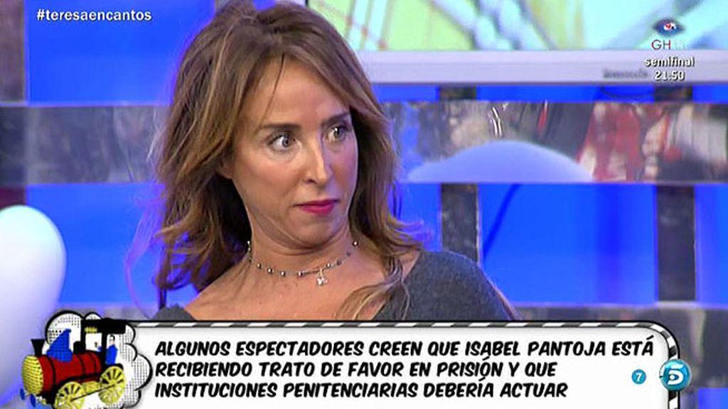 """María Patiño: """"He sido testigo de algo sobre Isabel Pantoja que nadie defendería"""""""