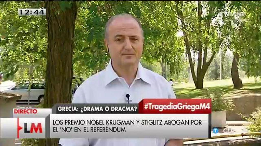 """Miguel Sebastián: """"Syriza es la consecuencia, no la causa de la situación de Grecia"""""""