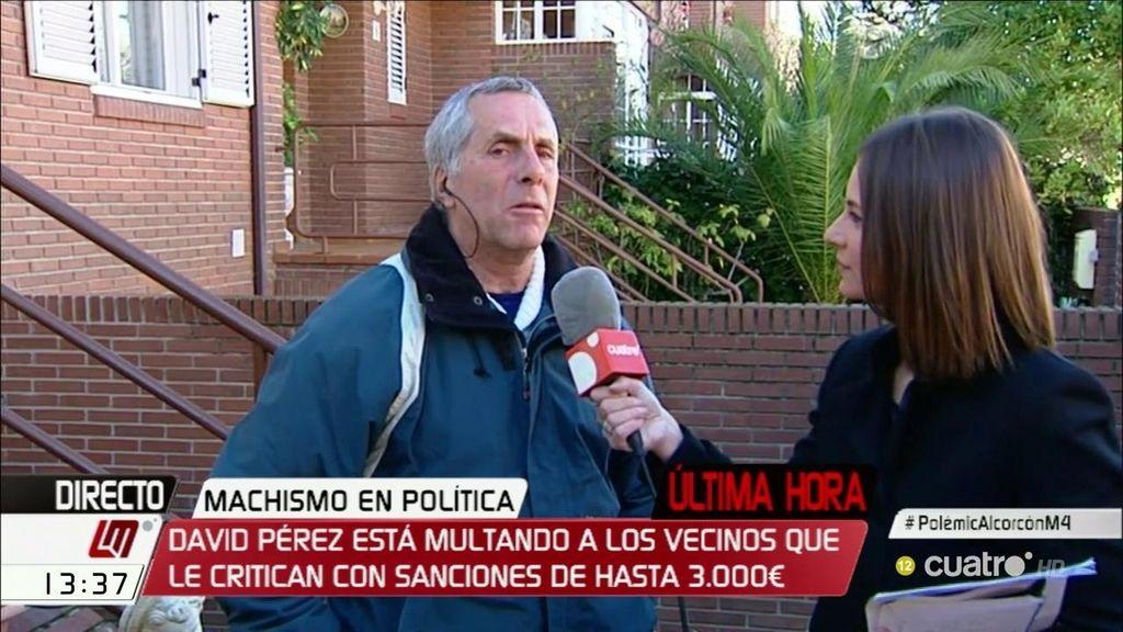 El alcalde de Alcorcón multa a los vecinos que le critican con 1.000€