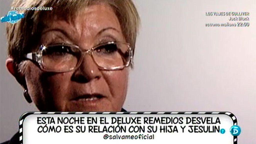"""Remedios Torres: """"Mª José no me ha prohibido venir pero no le gusta"""""""
