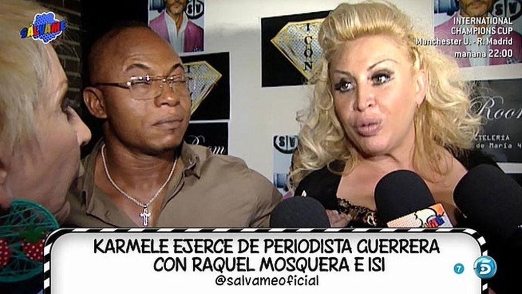 Raquel Mosquera se enfada con Karmele