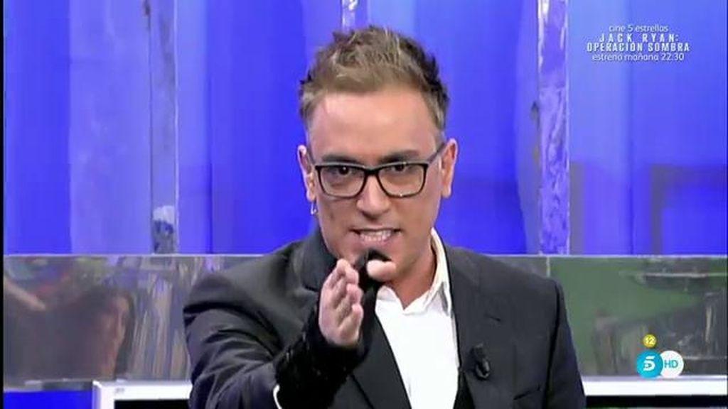 """Alejandro Albalá """"por fin"""" tendrá su portada en una revista, según Kiko Hernández"""