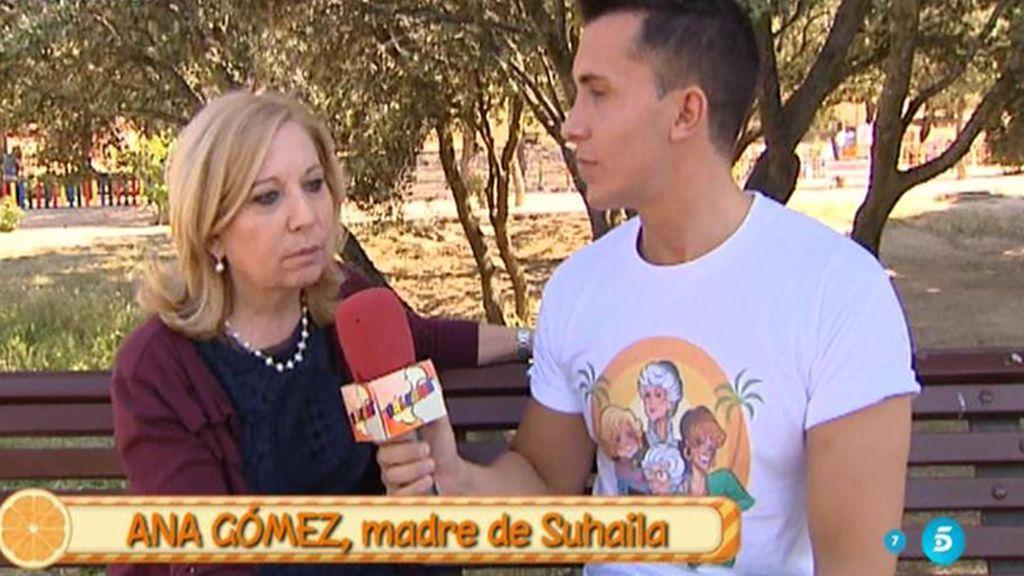 """Ana, madre de Suhaila: """"No sé hasta qué punto me creo el perdón de Nacho Vidal"""""""
