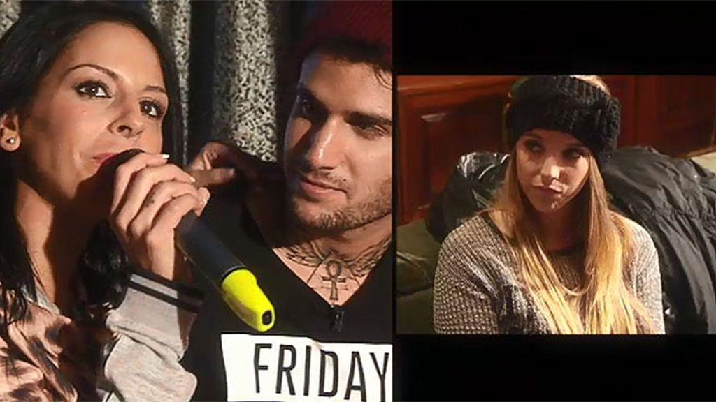Iris, Paula, Laura y Diolinda se enfrentan en un karaoke muy particular