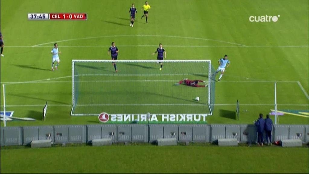 Gol de Nolito (Celta 1-0 Valladolid)