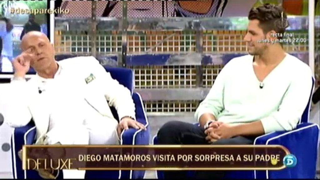 """Diego Matamoros: """"Enterarse de que tu padre se quería suicidar, es muy duro"""""""