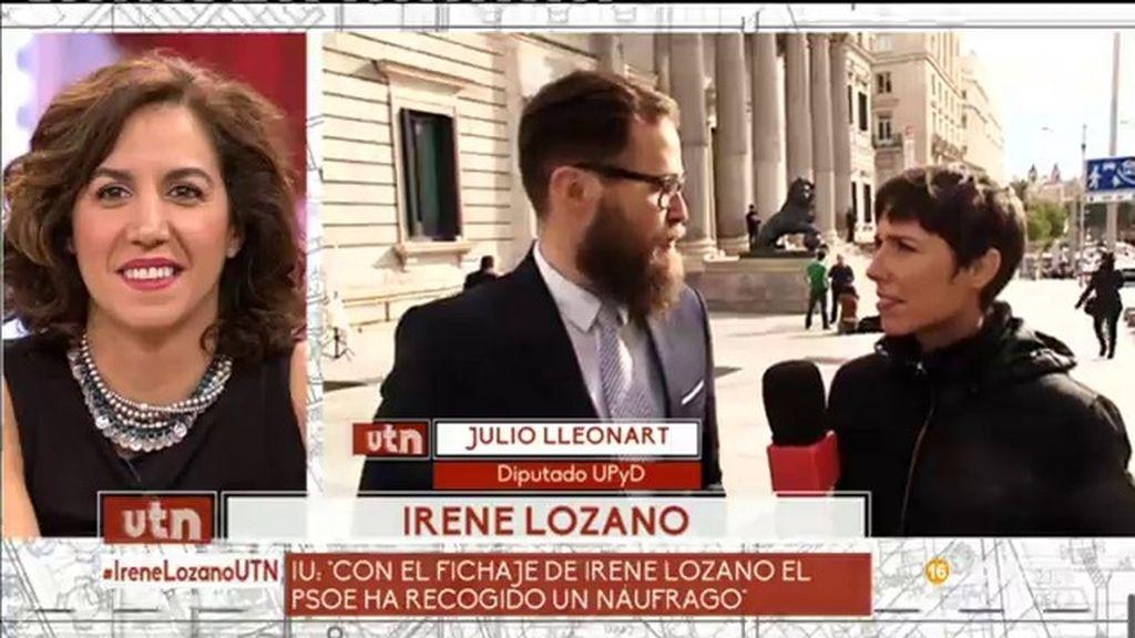 ¿Qué opinan del cambio de Irene Lozano en el Congreso de los Diputados?