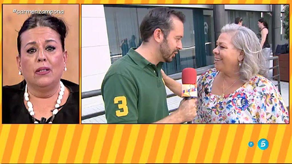 """Carmen Gahona: """"El lunes vamos a comer toda la familia y yo voy a hacer que nos vean"""""""