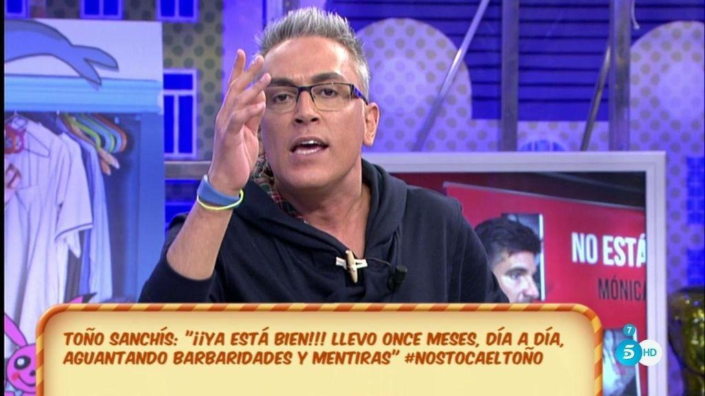 """Kiko Hernández, tras las declaraciones de Toño: """"Te acabas de pegar un tiro en el pie"""""""