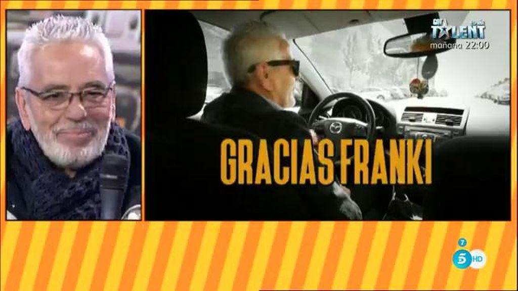 Belén Esteban y el equipo de 'Sálvame', rompen a llorar con la jubilación de Frankie