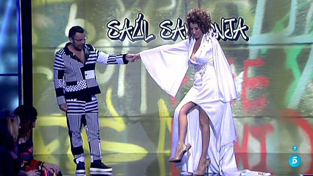 Los looks de Paz Padilla y Jorge Javier Vázquez en la 'SLVM Fashion Week'