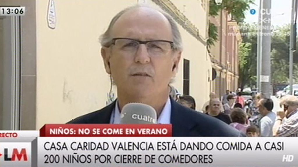 Casa Caridad Valencia atiende diariamente casi a 200 niños