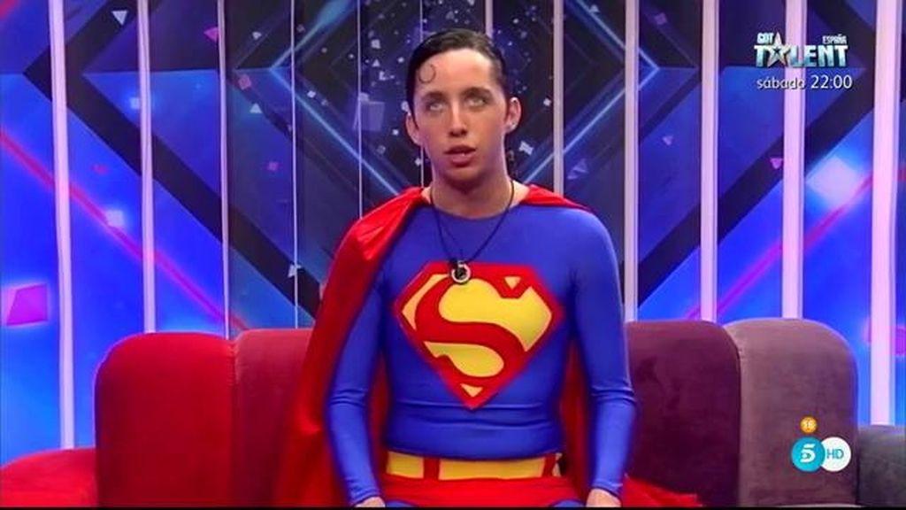 Fran Nicolás, el 'Superman' de Guadalix