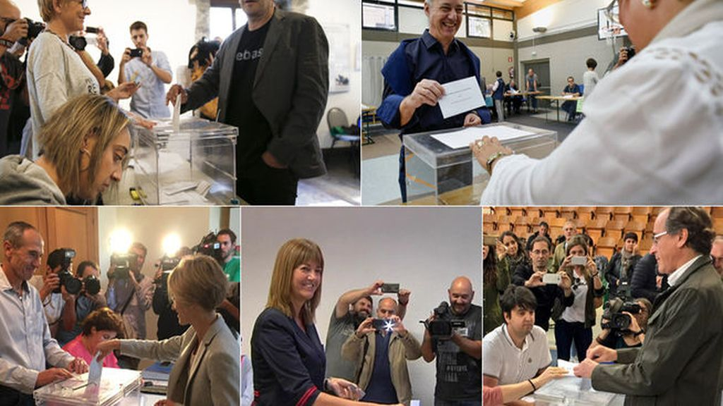 Con los votos de los líderes ya en las urnas, ahora hablan los vascos