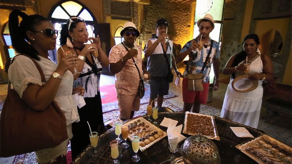 Los reyes del lujo ya están en el Sáhara