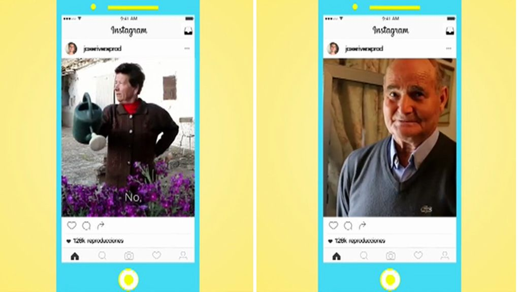 Los #abuelos #interneteros de José