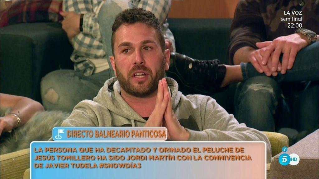 Jordi Martín, culpable de la broma más pesada a Jesús Tomillero