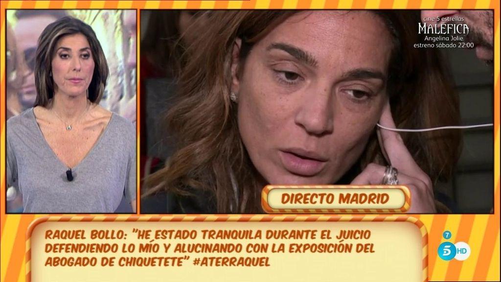 """Raquel Bollo: """"Ni he llorado ni me han tenido que llamar la atención cinco veces"""""""