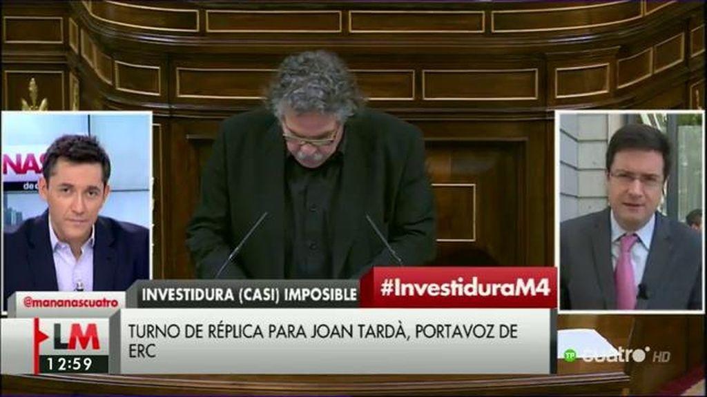 """O. López: """"Debe ser duro para Rajoy darse cuenta de que es un tapón para el país"""""""