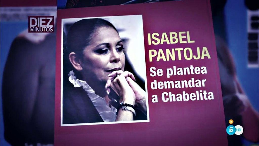 Isabel Pantoja, en 'Diez Minutos': Se plantea demandar a Chabelita