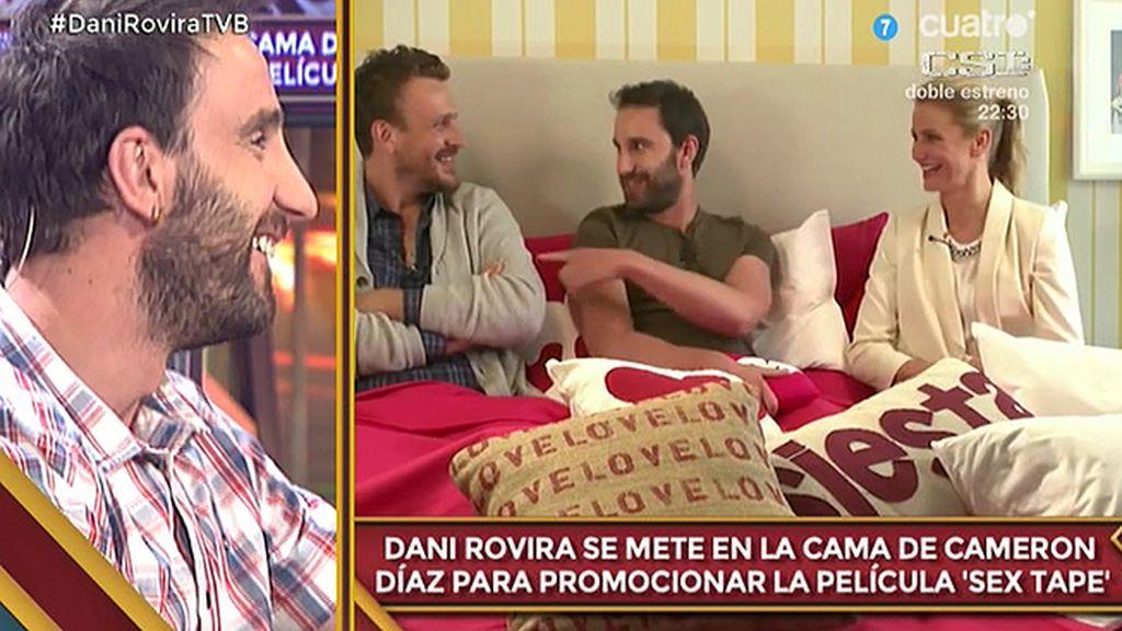 Dani Rovira, en la cama con Cameron Díaz