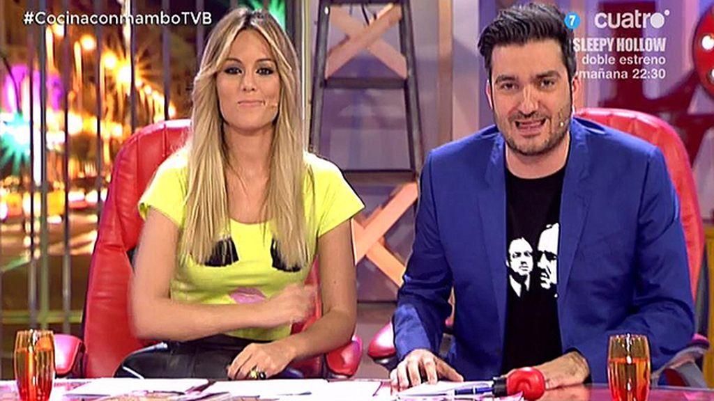 """Edurne imita a Rajoy: """"¿Qué tal con de Gea?; Bueno, venga, hasta ahora"""""""