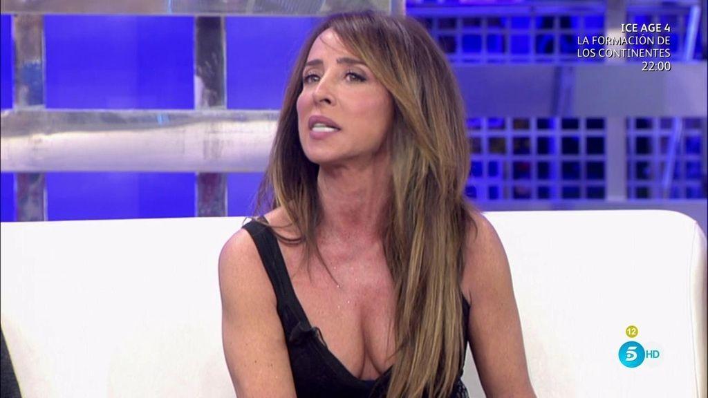 """María Patiño: """"Carmen y Terelu no soportan a Bigote, no le quieren en sus vidas"""""""
