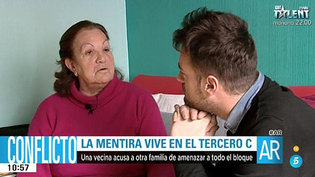 """María: """"Soy capaz de cargarme a todo el que haga la vida imposible a mi hija"""""""