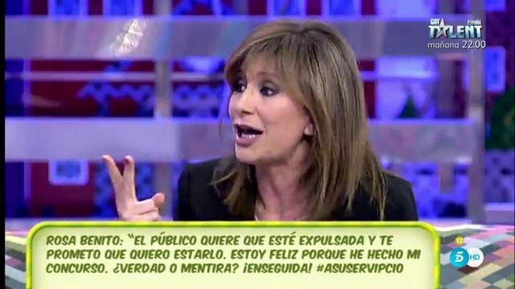 """Gema López, a Geles Benito: """"Tu hermana no está preparada para el abucheo"""""""