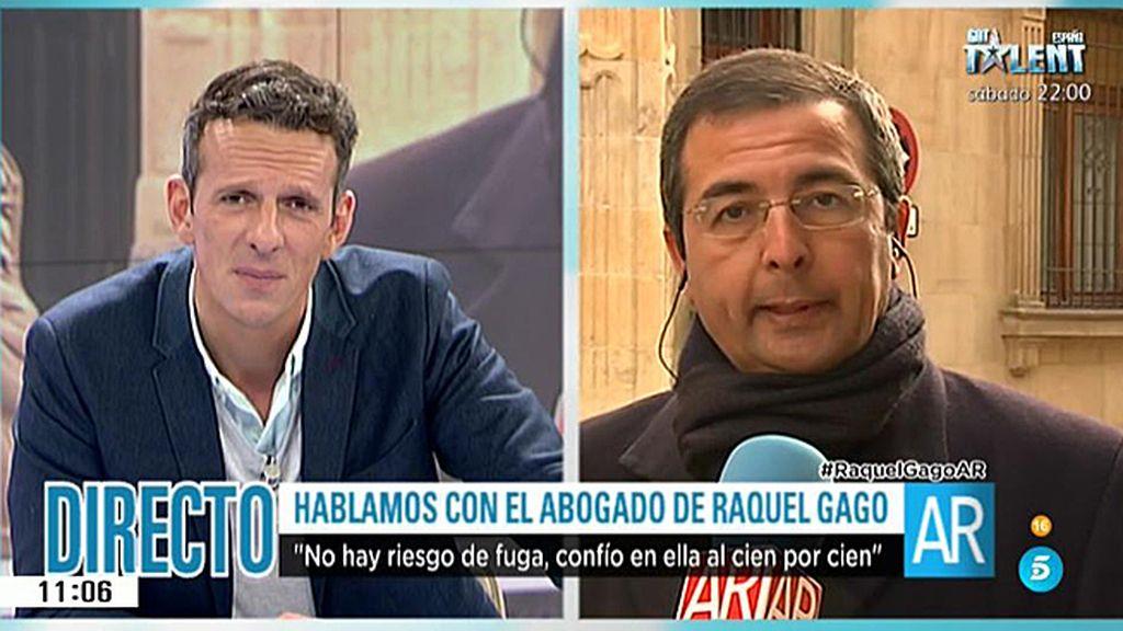 La entrevista íntegra al abogado de Gago