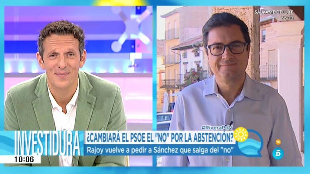 """Óscar López: """"No es un capricho votar no, es sentido común, somos la alternativa"""""""