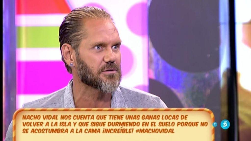 "Nacho Vidal: ""A Christopher no le gusta nada Chabelita"""