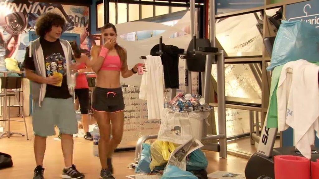 Huelga de limpieza en el 'Gym Tony'